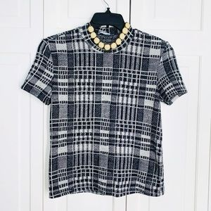 Zara Trafaluc Collection Stripped Top S